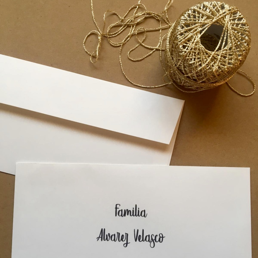 Cómo Escribir Los Nombres En Las Invitaciones De Boda