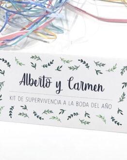 Cabecero kit de supervivencia 3