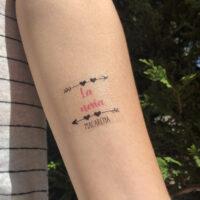 Tattoo La novia 3