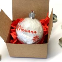Bola Navidad personalizada modelo 2